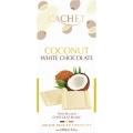 Tableta cachet chocolate blanco belga  y coco