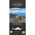 Tableta Cachet Selección TANZANIA organico     40% cacao
