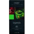 Tableta Cachet Selección UGANDA  80% cacao